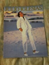 JULIO IGLESIAS 1986 AMERICA Tour Concert Program Tour Book