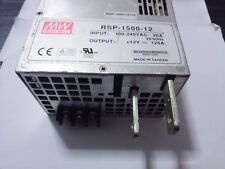 1PC Ming-wai switching power supply RSP-1500-12 12V125A