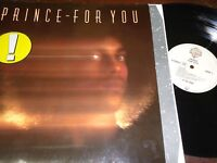 """PRINCE - For You, LP 12"""" IMPORT 1988"""