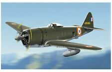 ARMOUR E096 P47 THUNDERBOLT model aircraft FRENCH FIRST AIRFORCE 44 1:48th scale