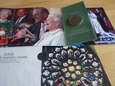 2007 Royal Mint BU crown pack Diamond Wedding