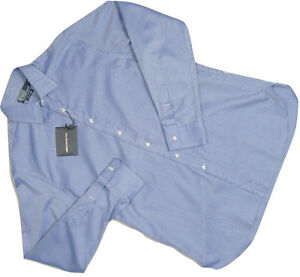 NEW $265 Polo Ralph Lauren Dress Shirt!  Dark Pink or Blue  Italy  Pearl Buttons