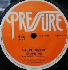 STEVE MYERS Shake Me 45 UK MODERN SOUL Boogie  PRESSURE 7