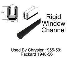 """Universal Window Channel - Rigid - 25/64"""" Wide x 15/32"""" Tall"""