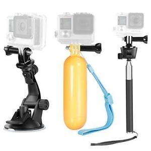 9in1 Kit  GoPro Hero Session, SJ4000/5000 Nikon y Sony Selfie Set