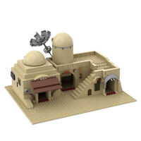MOC-45639 Tatooine Double Building Slums TAT02 Building Blocks Toy for Star Wars