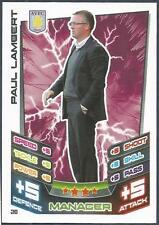 TOPPS MATCH ATTAX 2012-13- #020-ASTON VILLA-PAUL LAMBERT