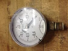 4 Inch Vacuum Gage 0 To 060 Bar En 837 1 Kl 10 Process Equipment Cracked