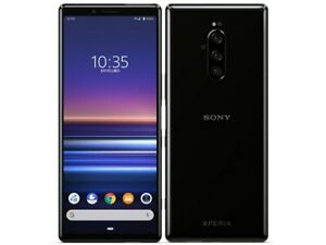 SONY XPERIA 1 ANDROID PHONE JAPAN VERSION UNLOCKED BLACK 802SO / SO-03L / SOV40