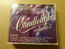 3 CD BOX / JAN VAN VEEN: DE MOOISTE LOVE SONGS UIT CANDLELIGHT - VOLUME 2