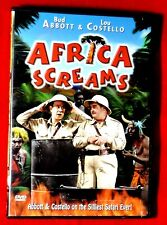 BRAND NEW Africa Screams FF b/w DVD Comedy Bud Abbott & Lou Costello Remastered