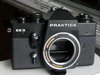 UNUSED Pentacon Praktica EE3 EE 3 Black Body, Tested. For Zeiss Electric Lenses.