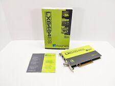 Digigram LX6464ES Ethersound PCI Sound Card
