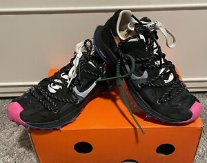 Nike x Off-White Zoom Terra Kiger 5•Size 5.5(M)/7(W)•Pre-Owned With Box
