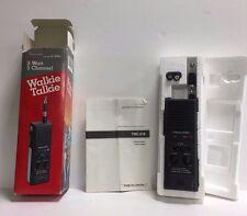 Vintage REALISTIC TRC-219 3-Watt 3-Channel CB Walkie-Talkie Owner's Manual/box