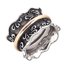 BOHEMME Ring, 925 Sterling Silber und 750 Gold, Gr. 55 / 17,5 mm, NEU+OVP P012