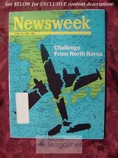 NEWSWEEK April 28 1969 4/28/69 NORTH KOREA Challenges Student Protests