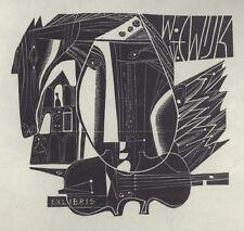 Ex Libris Jan van Doorn : Opus 212, W. v. Wijk