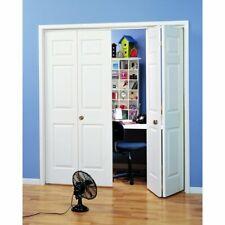 18x80 Primed White 6- Panel Bi-Fold Door