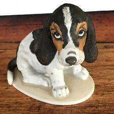 1983 Home Interiors Masterpiece Figurine Basset Hound dog figurine Homco