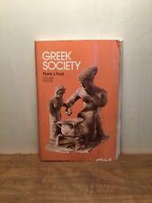 Greek Society by Frank J. Frost.  2nd Edition (PB, 1980)