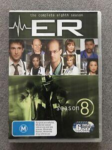 DVD - ER The Complete Eighth (8) Season - Region 4 PAL -