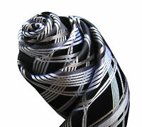 Mens Seven Fold Silk Neck Tie - Men's Silk Necktie by Distino - Business Ties