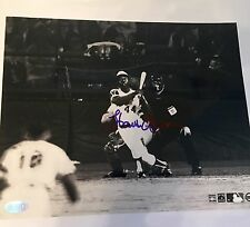 Hank Aaron Signed 8x10 Photo Steiner Hologram. Home Run King Braves