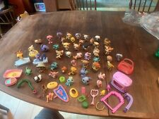 Littlest Pet Shop Lot And Accessories 60 Plus Pieces Very Nice Collection