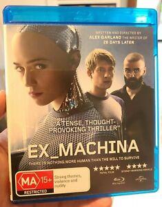 Ex Machina Blu Ray