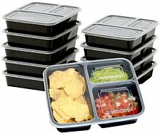 10 Meal Prep Food Storage Container Lunch Boxes Diswasher Microwave Freezer Safe