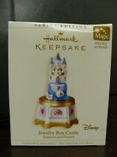 Hallmark Keepsake Disney Musical Jewelry Box Castle Treasures & Dreams w/ motion