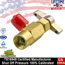 "1/2"" ACME R-134a AC Threaded Cans Tap Dispensing Valve Fitting manifold gauge"