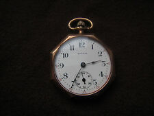 Langendorf Swiss Octagonal Gold Filled Pocket Watch