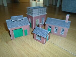 Collection of Metcalfe Buildings for Hornby OO Gauge Train Sets