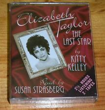 AudioBook 'Elizabeth Taylor - The Last Star by Kitty Kelley' 2 Cassette Tapes