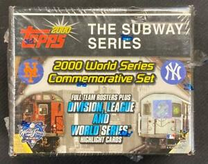 2000 TOPPS SUBWAY SERIES FACTORY SEALED SET **LOOK FOR JETER TOKEN**