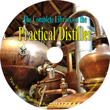 176 RARE Books DVD, HUGE Library on the Practical Distiller, Brew Alcohol How to