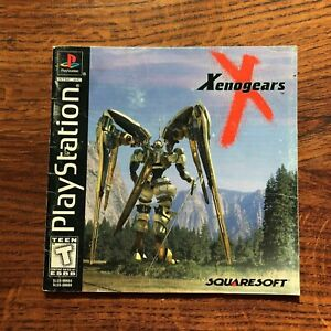 Xenogears Xeno Gears PS1 Playstation 1 PS One Instruction Manual Only