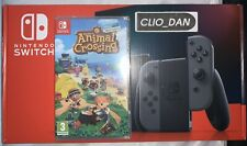 Nintendo Switch Grey Improved Battery & Animal Crossing New Horizons & Ring Fit