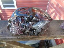 Glass Rock Slag Clear Pretty Purple 7.0 lb Cc26 Landscaping Aquarium