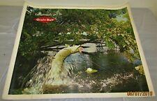 Vintage Large Grain Belt Beer Advertising Poster Sign Northern Fish Lure