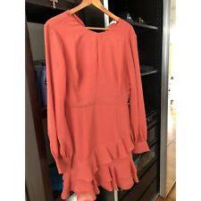 Cooper st size 14 coral frill dress