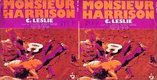 DISCO 45 GIRI    C. LESLIE - MONSIEUR HARRISON // MAHAYANA