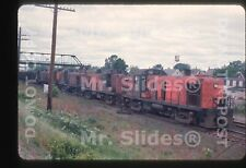 Original Slide NYNH&H  New Haven ALCO RS3 542 & RS3/RS3/RS3/RS3 W/Train In 1966
