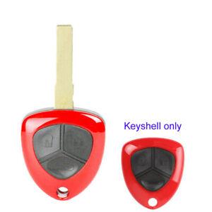 3 Buttons Remote Key Case Cover Shell for Ferrari 458 Italia 2010-2016 FF 599
