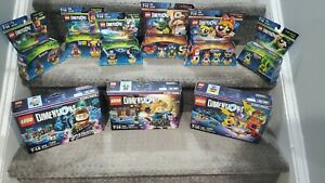 Lego Dimensions lot. All new. 9 sets.