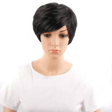 High Quality Hair Black Pixie Short Cut Wigs None Lace Wig For Black Women WH3