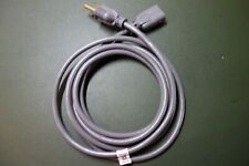 Hp Hewlett Packard Celestron Wurlitzer Ph 163 Vintage 3 Prong Oval Ac Power Cord