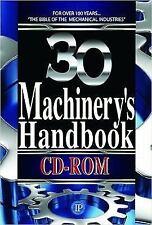 Machinery's Handbook CD-ROM by Jones Oberg (English)